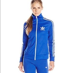 Adidas Originals Women's Blue Europa Track Jacket